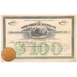 Gold Fortune Mining Company Stock Certificate   (107022)