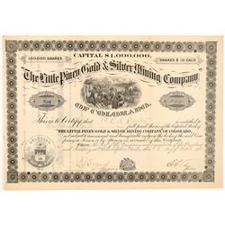 Little Piney Gold & Silver Mining Co. Stock Certificate   (104455)