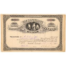 Satellite Consolidated Mining Company Stock Certificate   (107000)