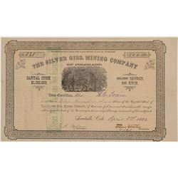 Silver Girl Mining Company Stock Certificate   (104319)
