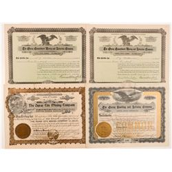 Ouray, Colorado Mining Stock Certificates   (104279)