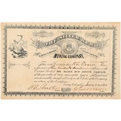 Silver Hub Mining Company Stock Certificate   (104315)