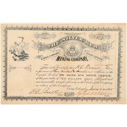 Silver Hub Mining Company Stock Certificate   (104315)