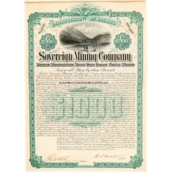 Sovereign Mining Company Bond   (104360)