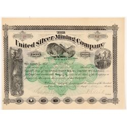 United Silver Mining Company Stock Certificate   (104327)
