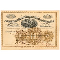 Schuyler Gold & Silver Mining Company Stock Certificate   (104300)