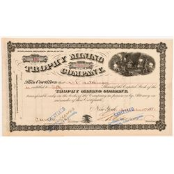 Trophy Mining Company Stock Certificate   (104272)