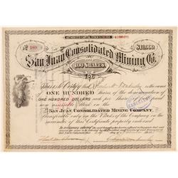 San Juan Con Mining Stock   (105613)