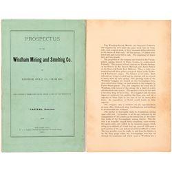 Windham Mining & Smelting Company Prospectus   (104303)