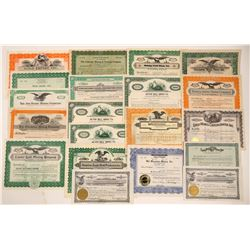 20 Colorado Mining Stock Certificates   (103488)