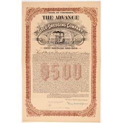 Advance Gold Dredging Co Bond   (108093)