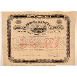 Colorado & New England MC Bond   (106627)