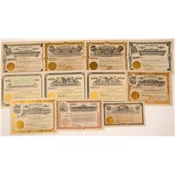 Colorado Tungsten Mining Stock Certificates   (104225)