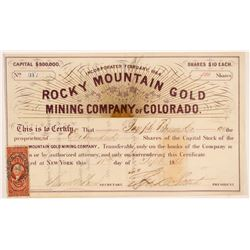 Rocky Mountain Gold MC of Colorado   (106625)