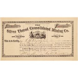 Silver Thread Consolidated Mining Co. Stock Certificate   (104320)
