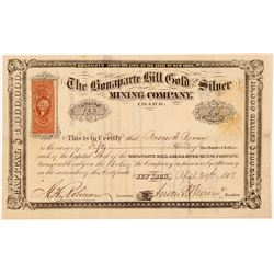 Bonaparte Hill Gold & Silver Mining Co. Stock Certificate   (107075)