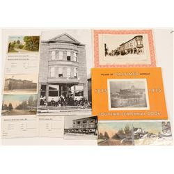 Ephemera / Calumet , Michigan. / 4 Items.   (105044)