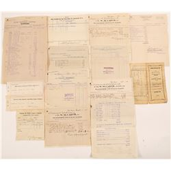 Mining Receipts Archive / Superior & Globe, Arizona.   (105040)