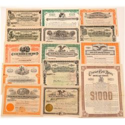 Montana Gold Mining Stock Certificate Collection   (107241)