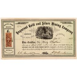 Huguenot Gold & Silver Mining Co. Stock Certificate   (107062)