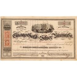 Chicago Gold and Silver MC Stock   (106619)