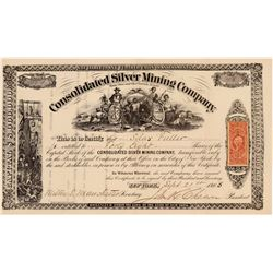 Consolidated Silver MC Stock   (108090)