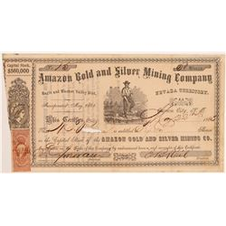 Amazon Gold and Silver Mining Company Stock   (106633)
