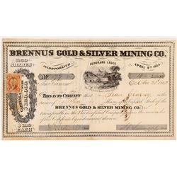Brennus Gold & Silver MC Stock   (108105)