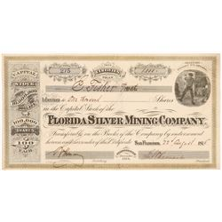 Florida Silver Mining Company Stock Certificate   (107006)