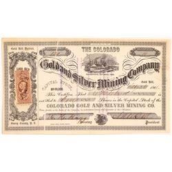 Colorado Gold and Silver MC Stock   (108096)