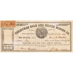 Christmas Gold and Silver MC Stock   (106621)