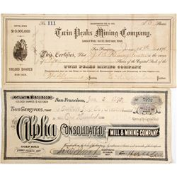 Gold Hill, NV Stocks (2)   (83303)