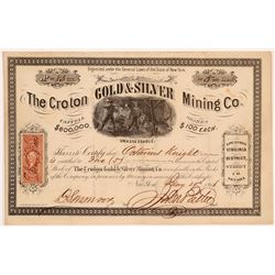 Croton Gold & Silver MC Stock   (106605)