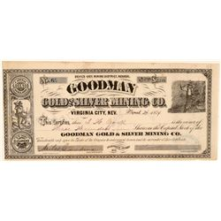 Goodman Gold and Silver Mining Stock   (105499)