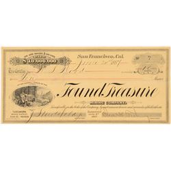 Found Treasure Mining Company Stock Certificate   (107008)