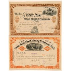 State Line Gold Mining, 2 Different    (105503)