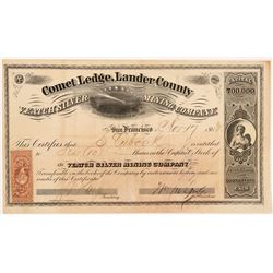 Veatch Silver Mining Company Stock Certificate   (107040)