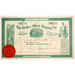 Midas Silver Mining Company Stock   (79247)