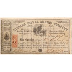 Niagara SIlver Mining Company Stock   (103578)