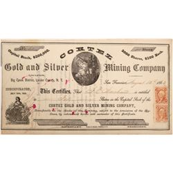 Cortez Gold and Silver MIning Company   (103587)
