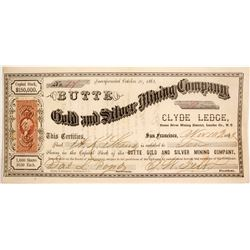 Butte Gold and Silver Mining Company Stock   (84522)