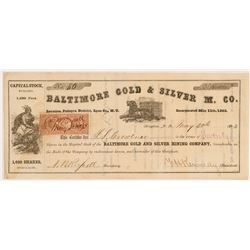 Baltimore Gold & Silver MC Stock   (108104)