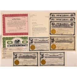 Nevada Mining Engineer Heizer Stock Collection   (107336)
