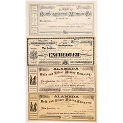 Nevada Mining Stock Certificate Group   (107013)