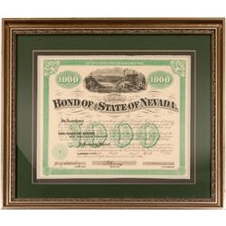 Nevada State $1000 bond, Hobart   (106473)