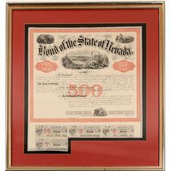 Nevada State %500 Bond 1865   (106472)