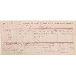Gold Deposit Memorandum /    (105030)