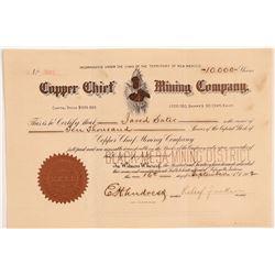Copper Chief MC Stock   (106618)