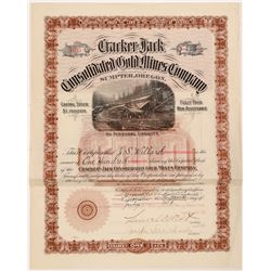 Cracker Jack Con Gold Mining Stock   (106602)