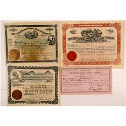 South Dakota Mines (4 Stock Certs.)   (108150)